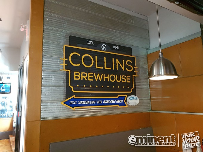 Collins Brewhouse Restaurant Mural - Barrie