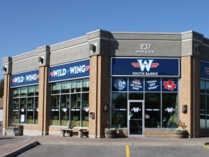 Wild Wing Barrie Storefront Graphics