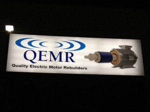 Backlit Sign - Quality Electric Motor Rebuilders