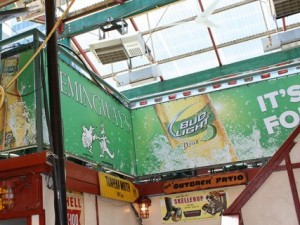 Bud Light lime/Hemingways Banners