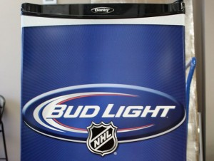 NHL/Bud Light Fridge wrap