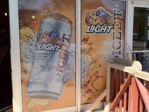 Coors Window Wrap