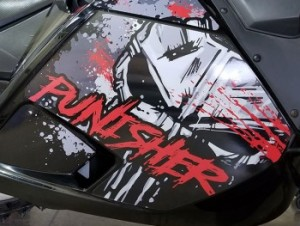 Bombardier Punisher Sled Wrap - Barrie