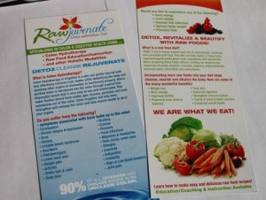 Rawjuvenate Brochure Printing - Barrie