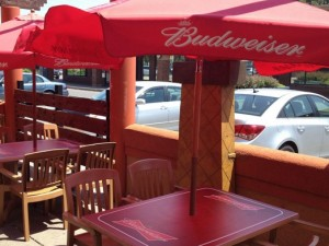 Budweiser Patio Table Graphics - Barrie