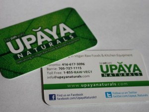 Upaya Business Cards - Barrie