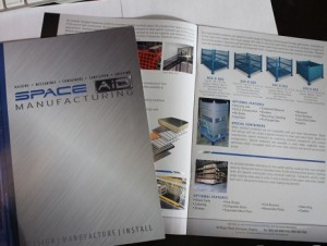 Space Aid Catalogue - Barrie