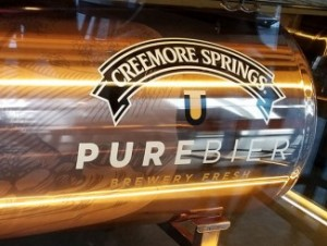 Creemore Beer Tank Wrap - Barrie