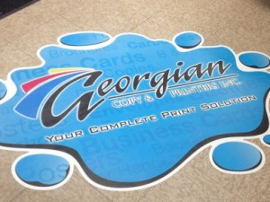 Custom Floor Graphics - Barrie