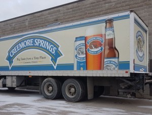 Creemore Delivery Truck Wrap - Barrie