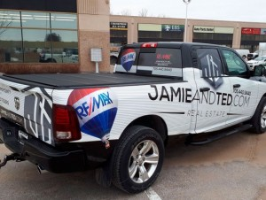 Real Estate Vehicle Wrap - Barrie