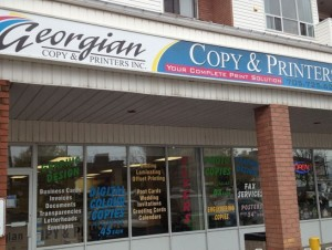 Georgian Copy Storefront